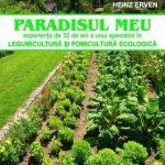 """Cartea """"Paradisul Meu"""" (agricultură ecologică) a fost retipărită."""